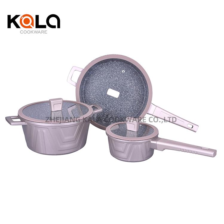 cast aluminium  casserole set  manufacturers