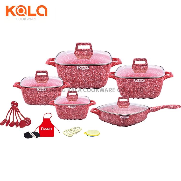 non-stick kichen tools cookware set china manufacturers
