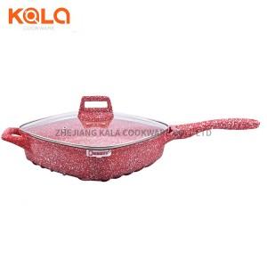 Dessini 25pcs pot sets square casserole with lids pyrex aluminium cooking pot non-stick kichen tools cookware set manufacturers