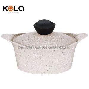 non-stick grill pan frying pan cuisine accessories frigideira antiaderente ceramic non stick cookware set 13pcs pink cooking pot