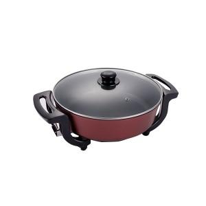 100% Original Wholesale Poach Pot - 30cm Multifunctional Round Non-Stick Electric Cooking Pan Pot – KALA