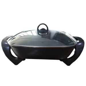 Fry Casserole - 30cm Square Multifunctional Non-Stick Electric Cooking Pan Pot – KALA