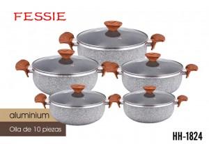 Good quality Odm Roast Casserole - Wholesale Customized High Quality Kitchen Pot Non-stick 10pcses Aluminun Pot – KALA