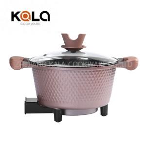 Odm Roast Skillet - mini electric bbq cooking pot cooking appliances casserole Aluminium nonstick coating cooker – KALA