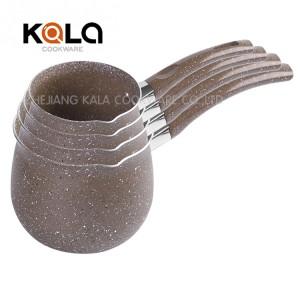 customize runda casserolle tea cookware sets camp cook pot instant coffee cooking pot casserol en aluminium set