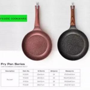 Customize Cooking Wok Non-stick Aluminun cookware set Eco-Friendly Kitchen Wok