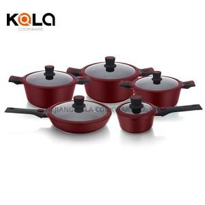 detachable handles luxury cookware set multi-function soup cooker sartenes de qualite hot pots cuisine accessories manufacture