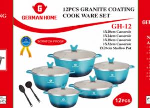 Special Price for New Design Fry Pot - Cooking Pot Casserole Manufacturer Non-stick cast Aluminun Granite coating cookware Pot  – KALA