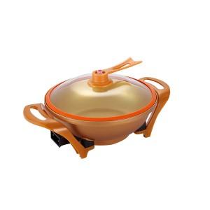 Factory best selling Wholesale Stir-Fry Pot - 32cm Multifunctional Round Non-Stick Electric Cooking Pan Pot – KALA