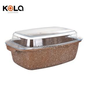 high quality granite cooking pots frying pan cookware set multipurpose fry pan customize food warmer set manufacturers