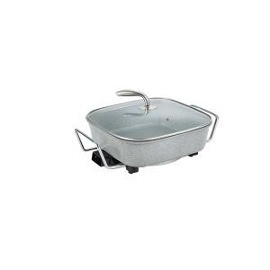 Cheap price Pan Factory - 30cm Multifunctional Square Non-Stick Electric Cooking Pan Pot – KALA